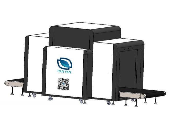 LD-100100D大型双视角通道式x光安检机