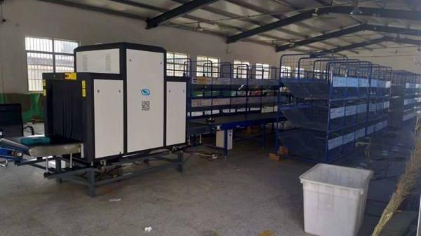 智能安检机在服装厂里主要是检查什么物品