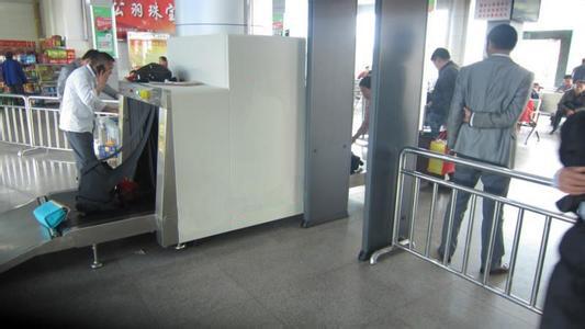 天眼安检机在新城汽车站