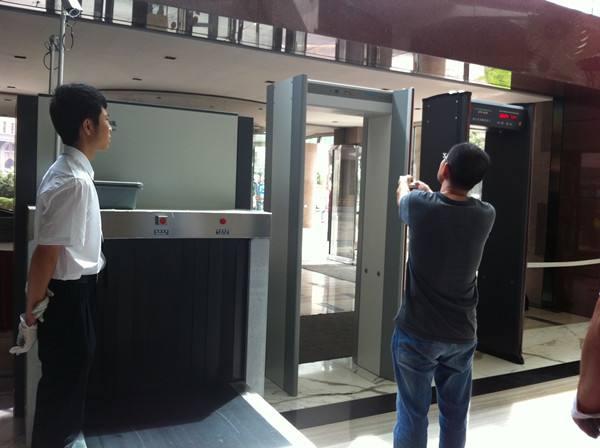 x光安检机的应用