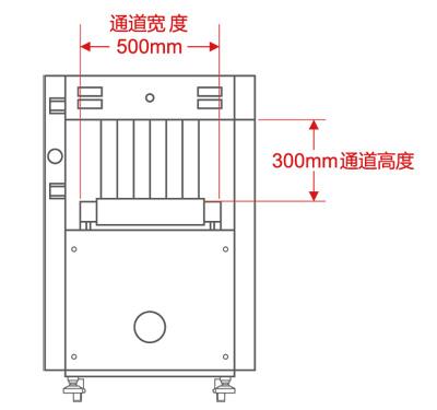 LD-5030C通道式X光安检机尺寸