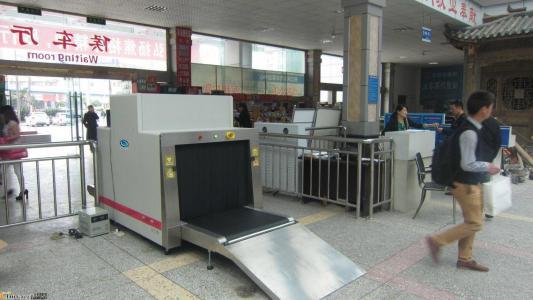 安检机在客运站
