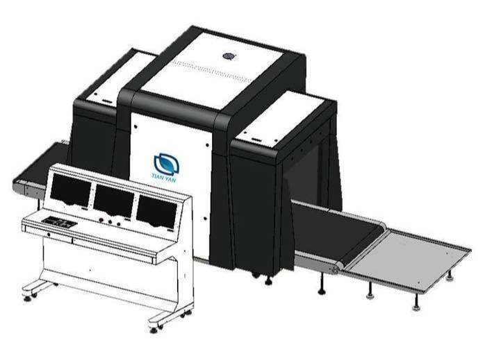 LD-10080D双视角通道式X光安检机