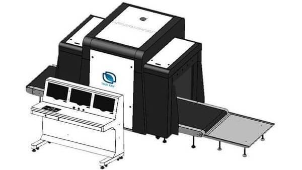 使用X光安检机设备检测物品时遇到的问题