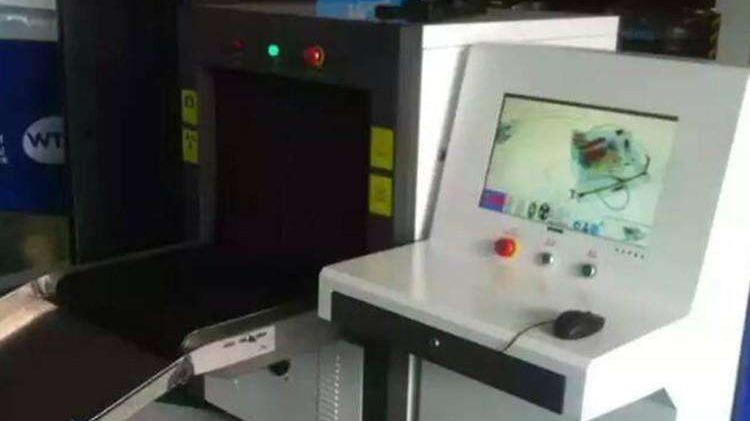 用在快递物流企业的X光安检机