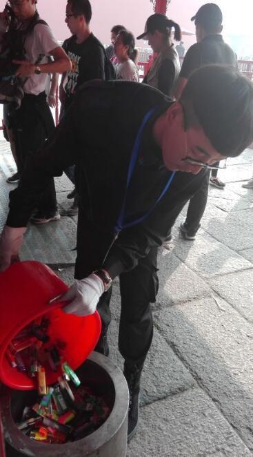 故宫检出打火机 (2)