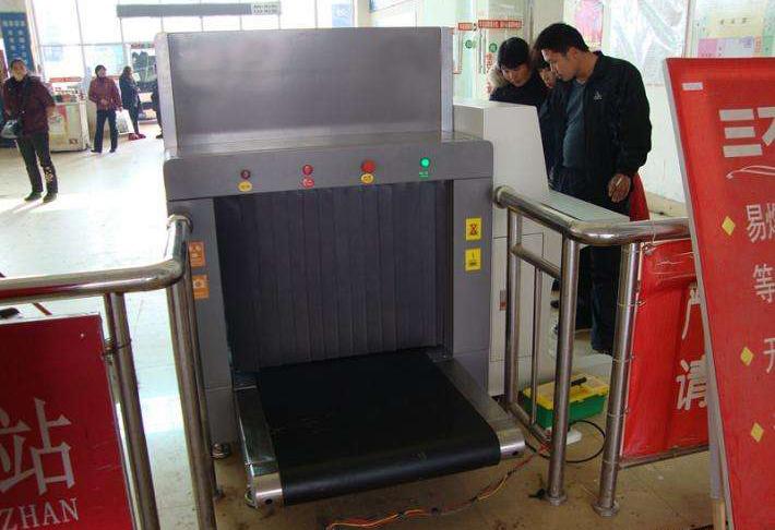 安检机在兴义车站的应用